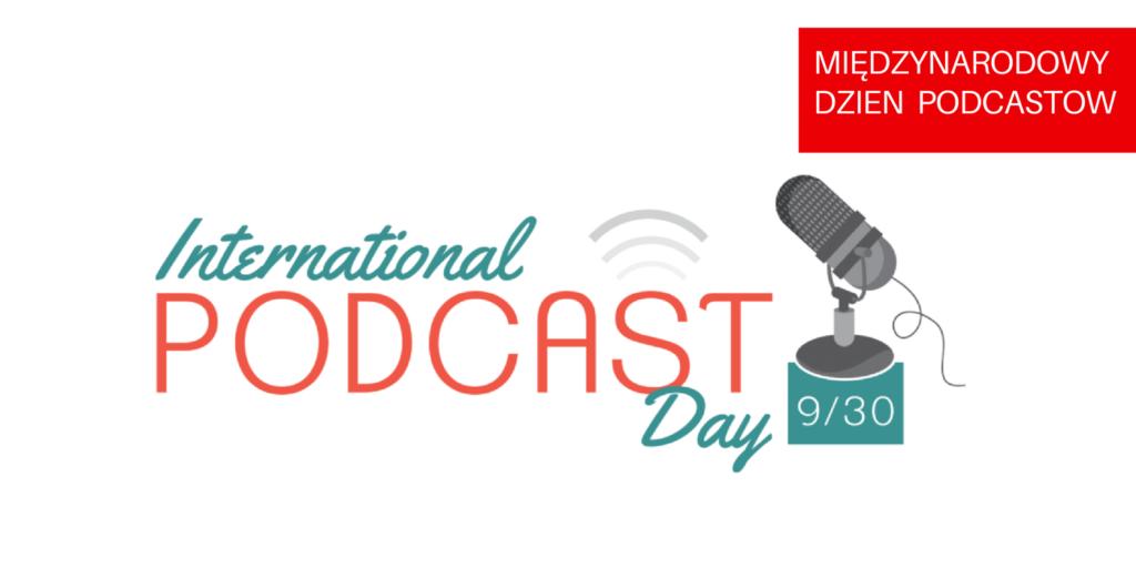 grafika międzynarodowego dnia podcastów